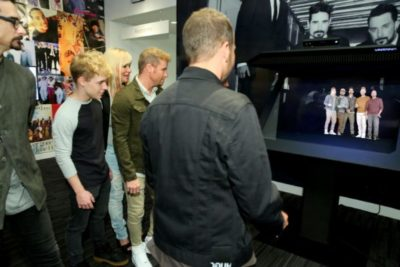GRAMMY MUSEUM® AND VNTANA CREATE THE FIRST EVER BACKSTREET BOYS INTERACTIVE HOLOGRAM FAN EXPERIENCE