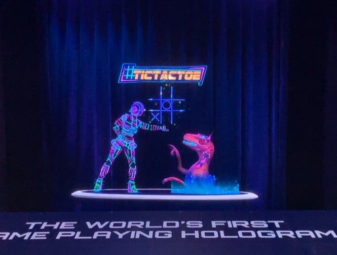 VNTANA and LINQ Casino Launch World's First Game Playing Hologram